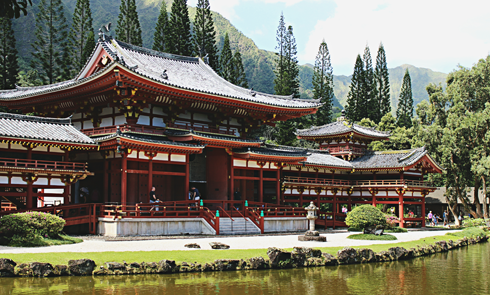 byodo-in temple oahu hawaii