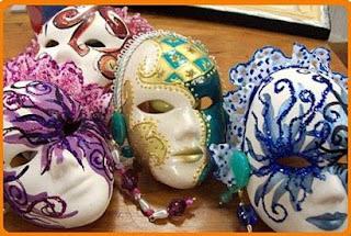 Máscaras de Carnaval 2014 3 Máscaras de Carnaval 2014