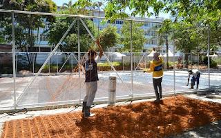Prosan se compromete a entregar Praça Olímpica de Teresópolis pronta em dezembro
