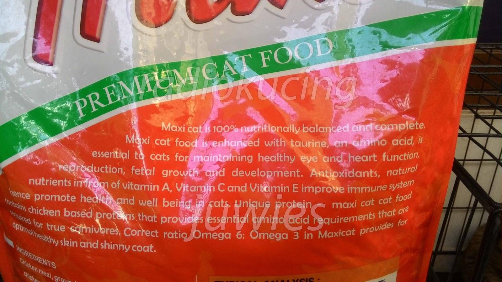 Review Makanan Kucing Maxi Premium Cat Food Repack Chicken And Tuna 500 Gram Diperkaya Juga Dengan L Lysine Yang Bermanfaat Untuk Kekebalan Tubuh Dan Merangsang Nafsu Makan