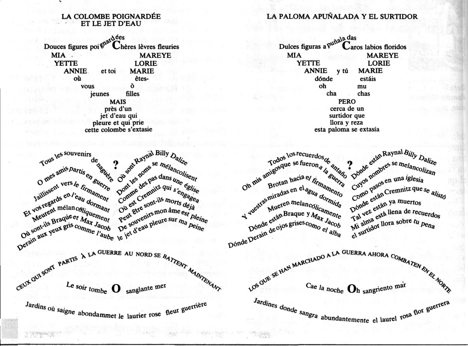 Ejemplos De Poemas En Espanol