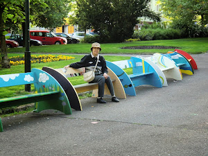 Park in Plzen/ Tschechische Republik
