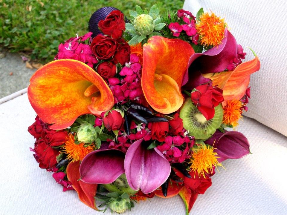 Fruit Flower Baskets Vancouver : Lovely floral designer antonella diniro galaj from