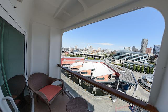Suite 14014 Balcony on the Norwegian Pearl