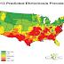 Συχνότητα εμφάνισης  Ερλιχίωσης στις ΗΠΑ...