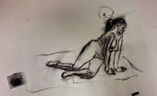 Nyack Center Figure Drawing Among The Artists Were Trine