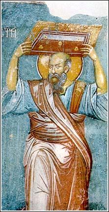 San Paolo Apostolo dans IMMAGINI (DI SAN PAOLO, DEI VIAGGI, ALTRE SUL TEMA) 4.Serbia,+Zica,+Apostolo+Paolo,+1300