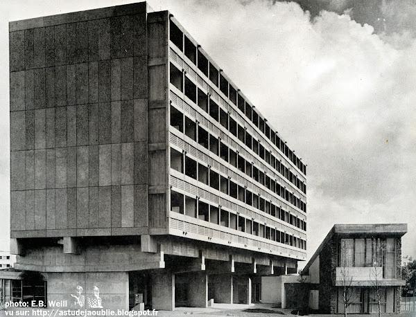 INAUGURATION DE LA MAISON DU BRÉSIL A LA CITÉ UNIVERSITAIRE DE PARIS  L'Architecture d'Aujourd'hui - Juin - Juillet - 1959