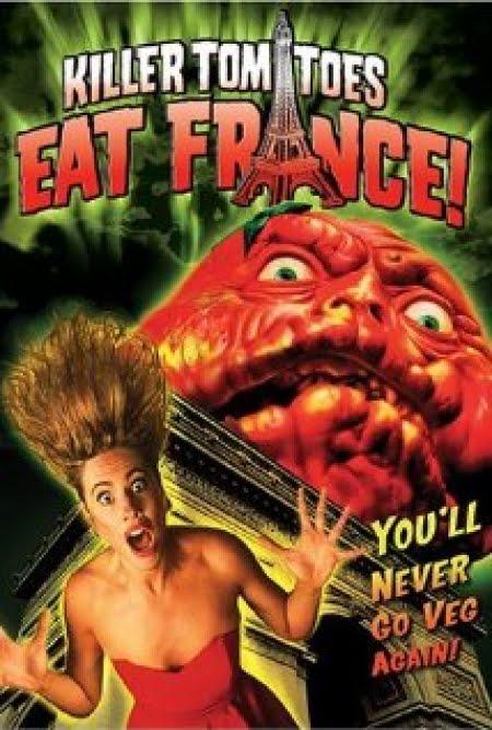 Os Tomates Assassinos Atacam a França Dublado