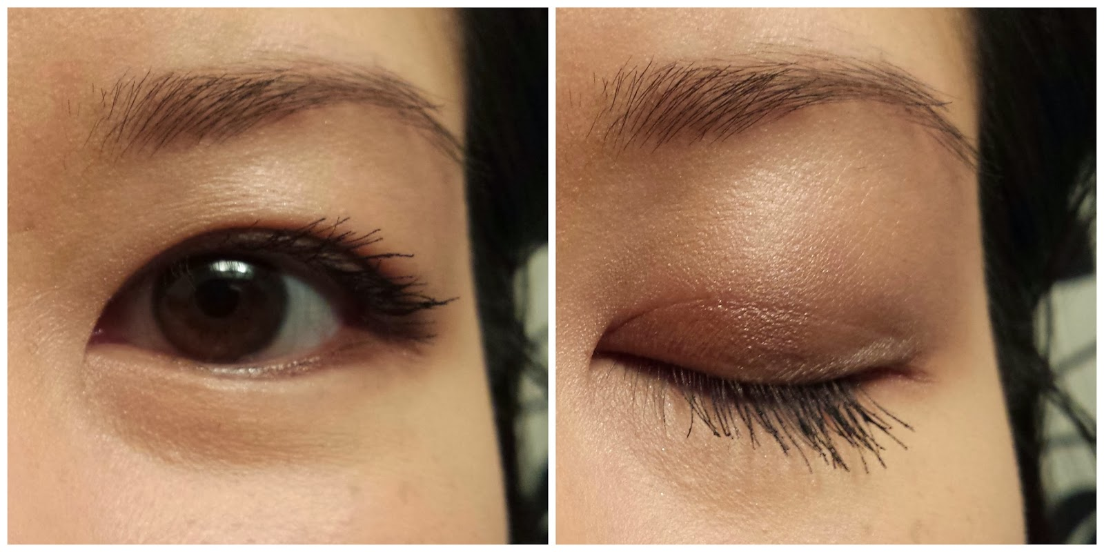 Sample eyeshadow look with Naked 3