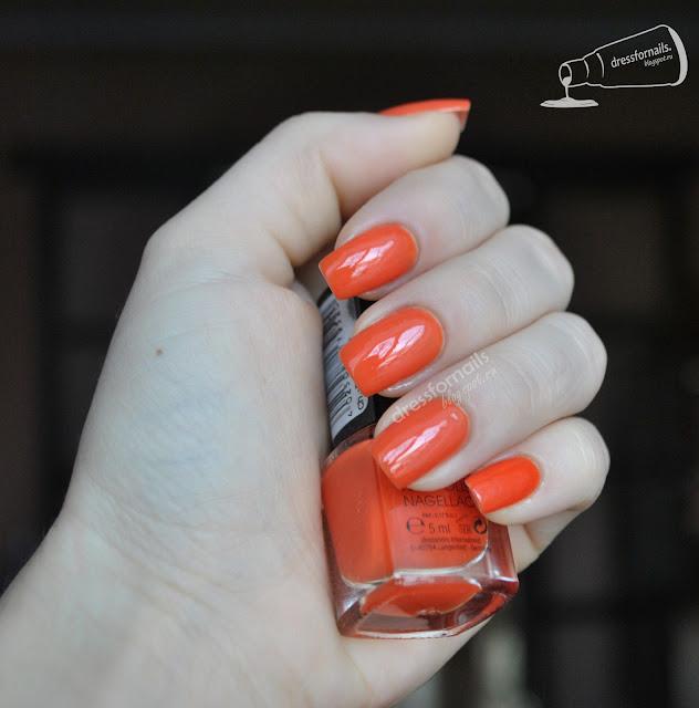 Sanaya Orange лак из Индии