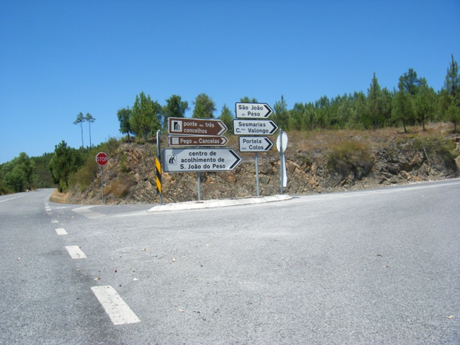 Placas de indicação