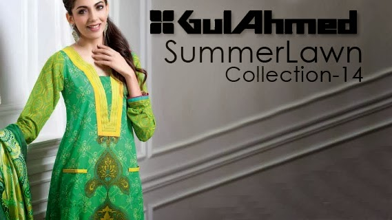 Gul Ahmed Summer Lawn Collection Vol-1