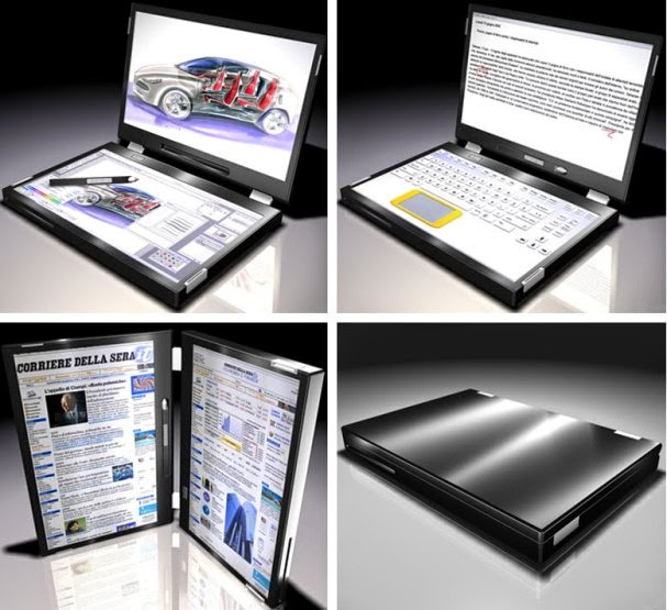 Canova's Dual-Screen Laptop