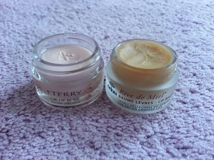 nourishing lip balms from By Terry and Nuxe