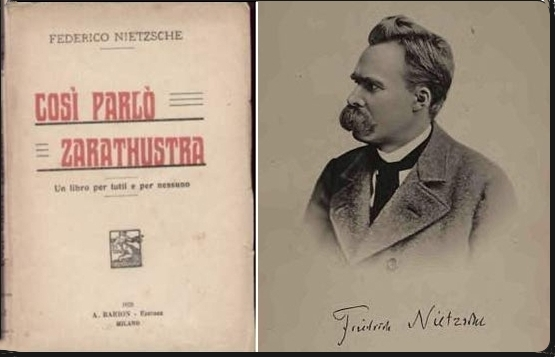 Nietzsche's book Also sprach Zarathustra, 1885