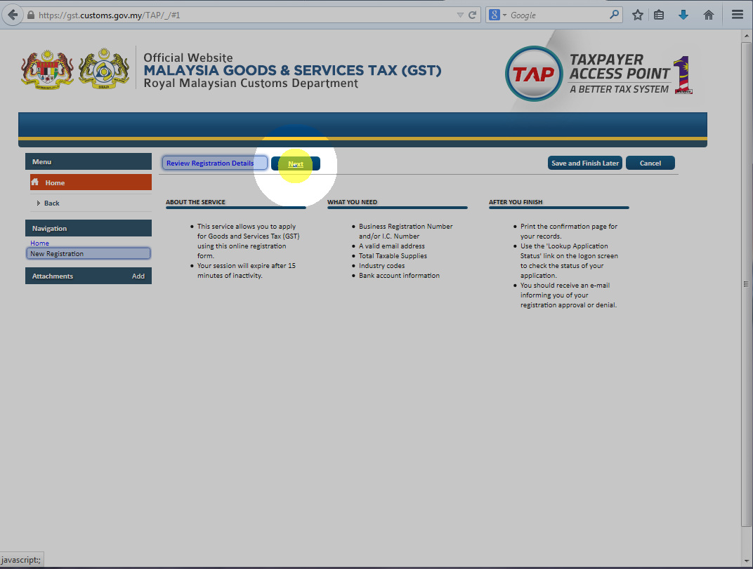 how to cancel gst registration online