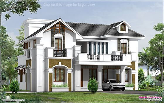 2200 square feet 4 BHK villa