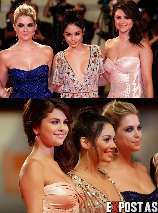 Selena Gomez, Vanessa Hudgens, Ashley Benson e Rachel Korine: Première de 'Spring Breakers' no 69th Venice Film Festival at - 05 de Setembro de 2012