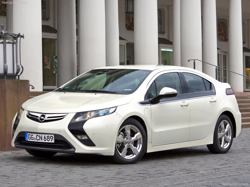 2012 Opel Ampera Electric Vehicle