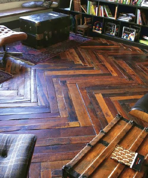 Herringbone Patterned Wood Floors Theyre Here To Stay Cozy