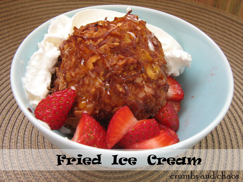 print fried ice cream ingredients 1 quart vanilla ice cream