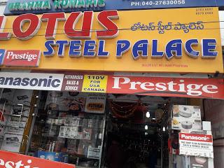 lotus steel Palace