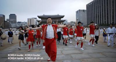 Psy Korea arms spread