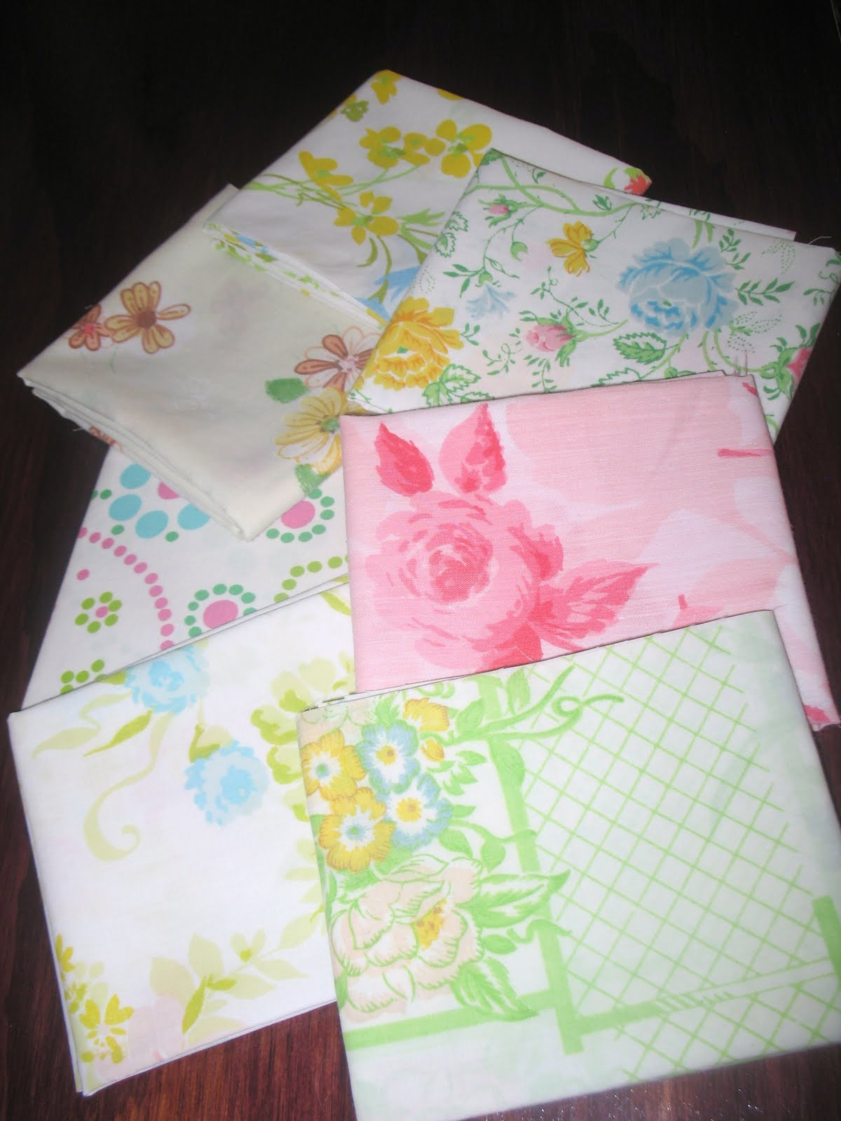 Shabby Redo For You Vintage Pillowcase Quilt