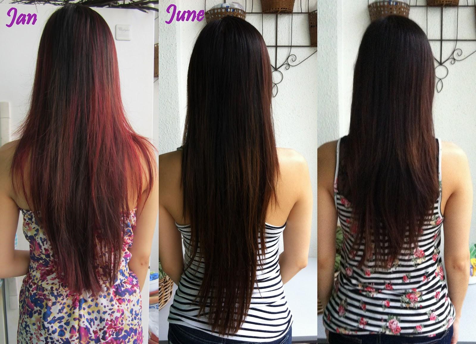 V-shape Layered Hair Back View