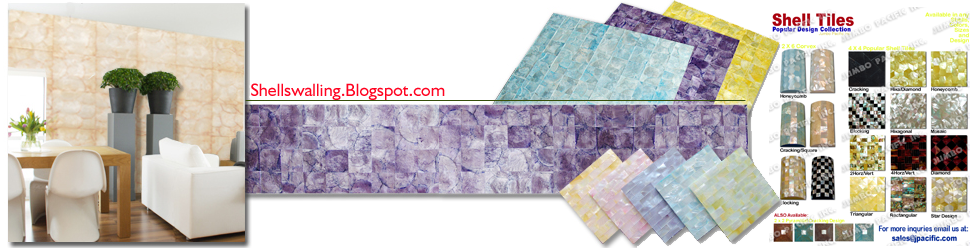 Shell Tiles, Capiz Walling Panels, Seashell Wallpapers, Philippine Shell Tile, Shell Tile Supplier