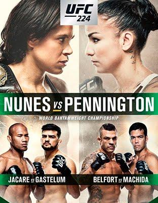 Ver UFC 224 Nunes vs Pennington En VIVO