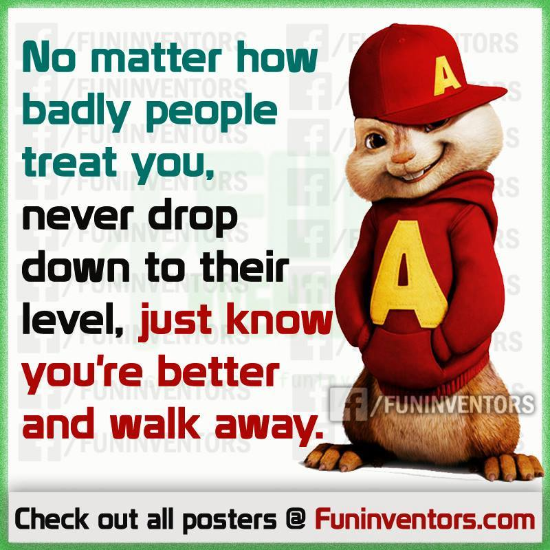 Alvin and chipmunk quote