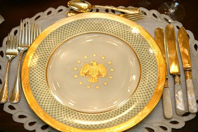 Etiquipedia Etiquette And Dishing On White House China