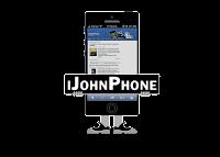 iJohnPhone Logo en negro
