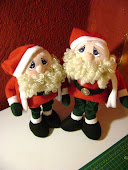 Muñecos de Santa....