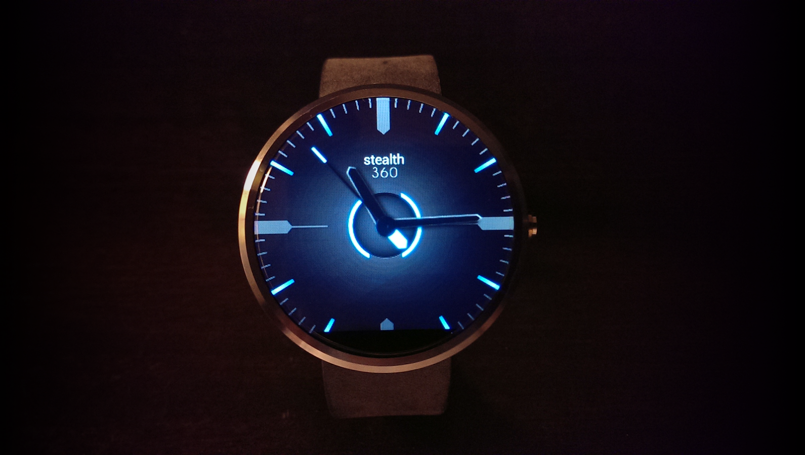 Facer android wear - Watch Face Stealth360 Classy Looking Watch Face For Android Wear