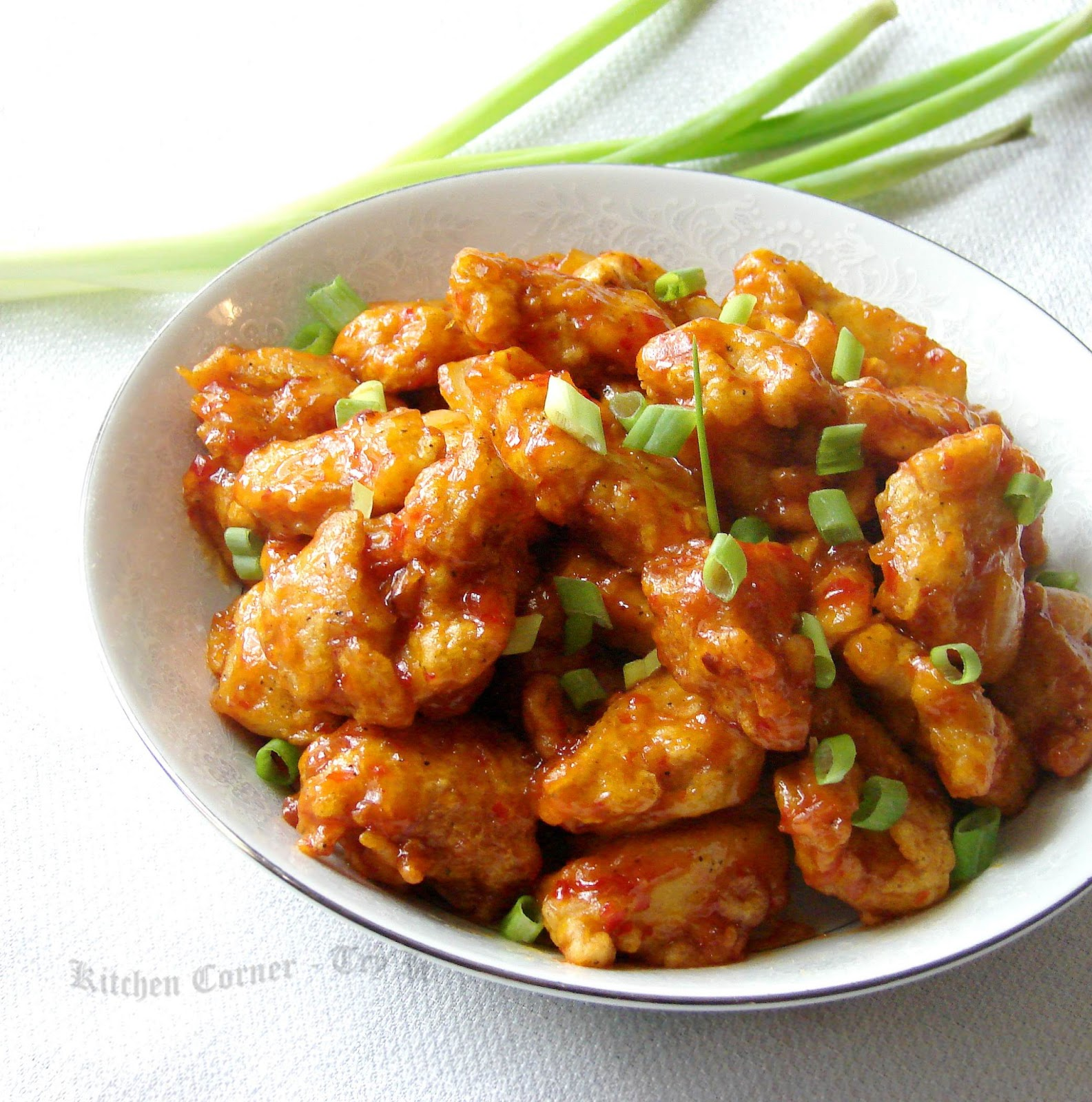 Orange Chicken Orange chicken