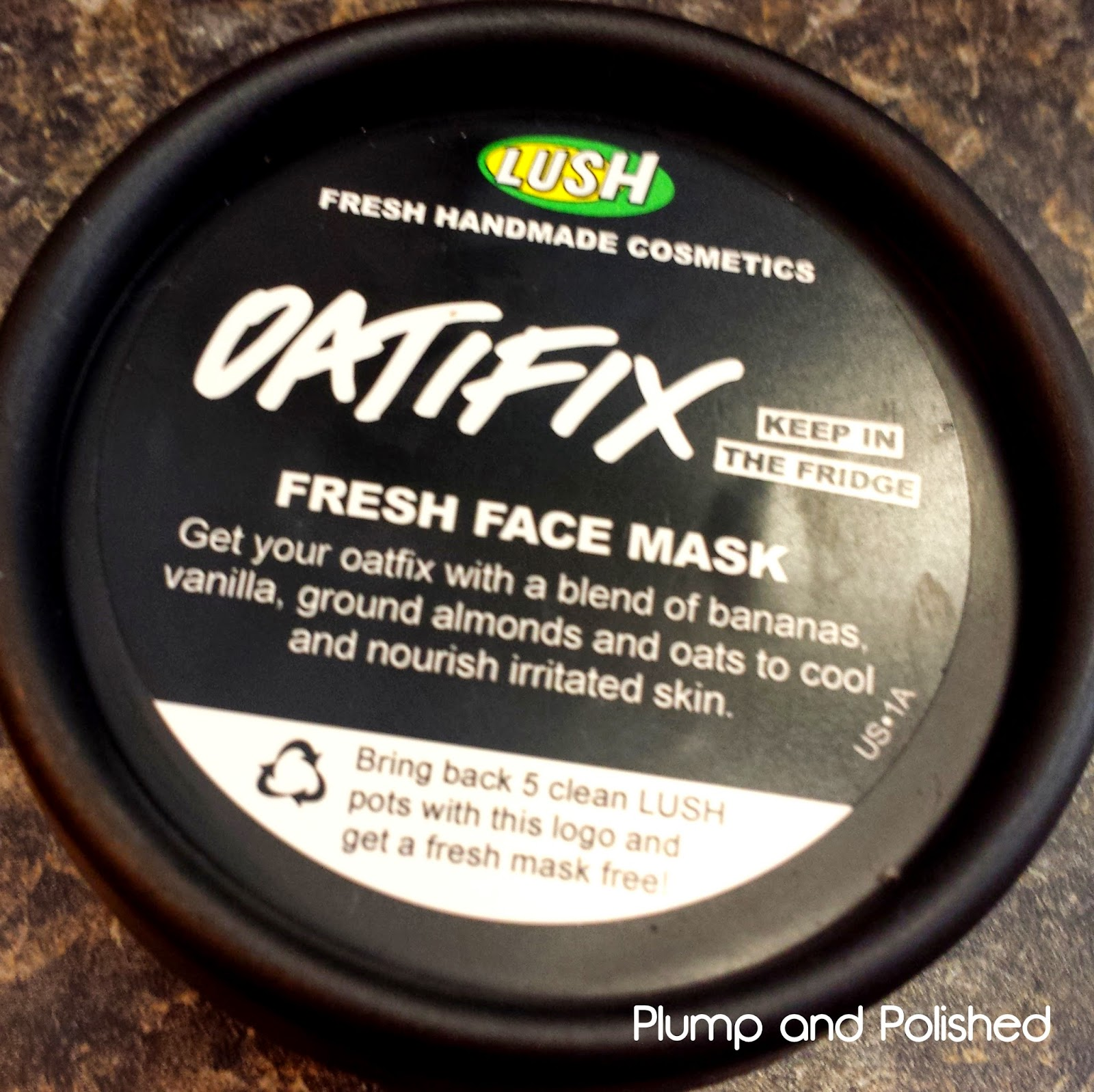 Lush Cosmetics - Oatifix Fresh Face Mask