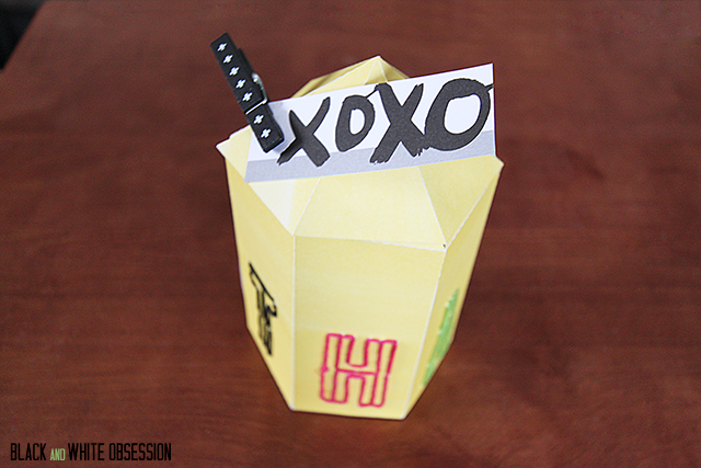 Paper Crafts: Geometric Favor box- Embellishments | www.blackandwhiteobsession.com