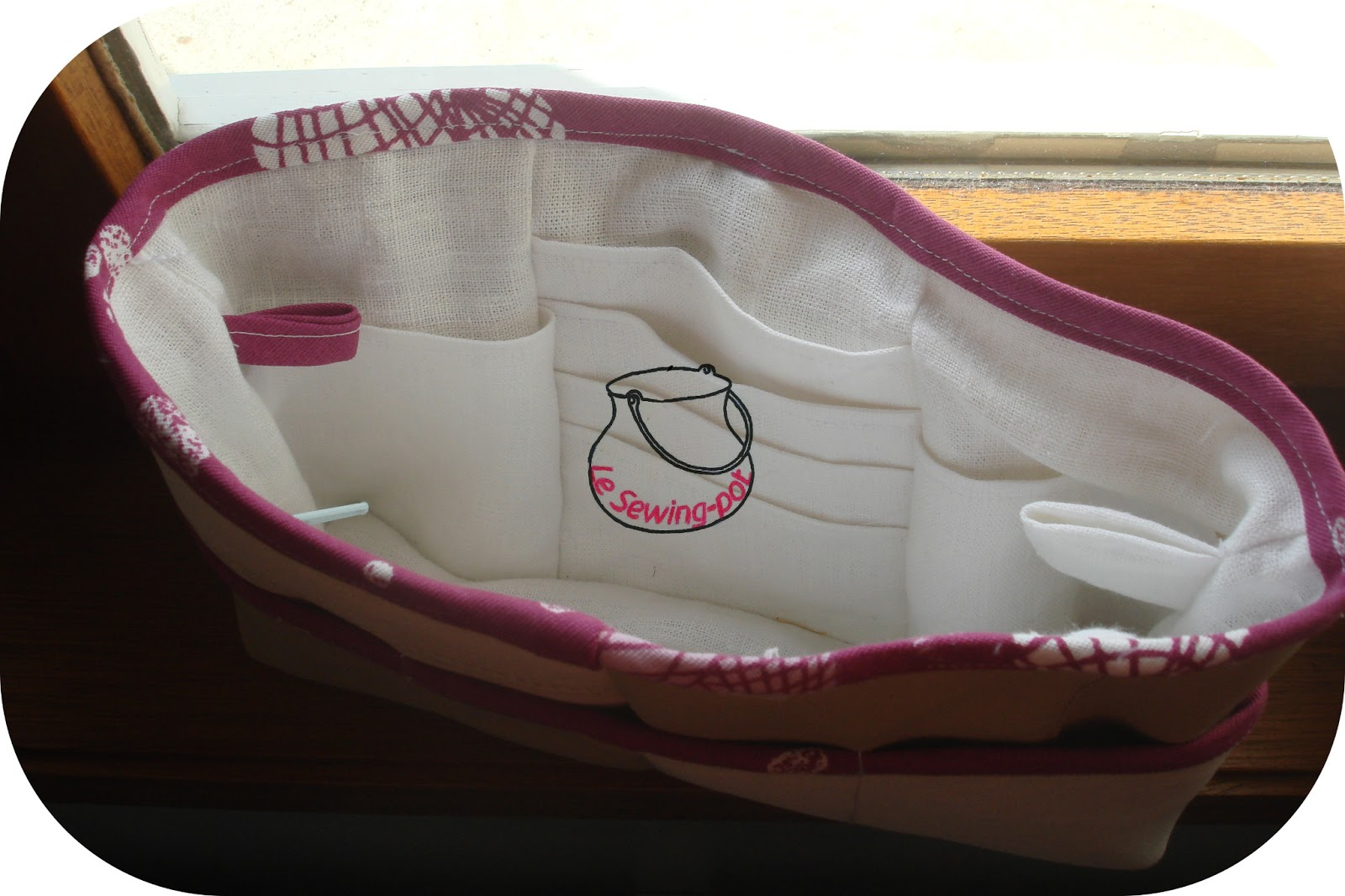 Le sewing pot organisateur sac main hand purse organiser - Tuto organisateur de sac ...