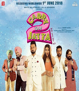 Carry on Jatta 2 (2018) Punjabi Movie hevc HDRip 190Mb