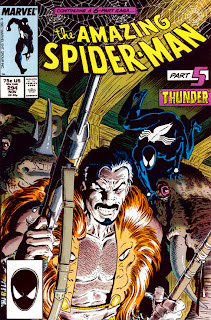 Amazing Spider-Man #294 cover - Death of Kraven