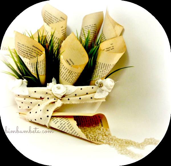 Bim bum beta il cestino per i coni porta riso matrimonio - Cesto porta coni di riso ...