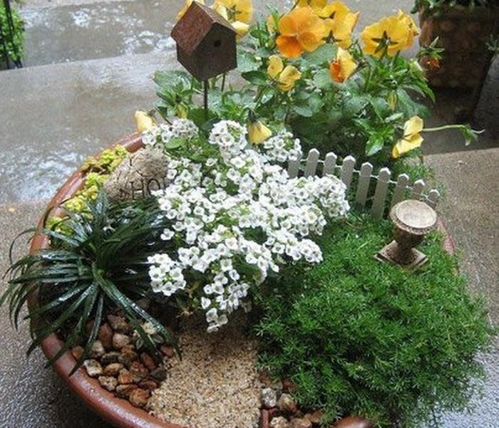 Super ideias! Idéias para decorar o seu jardim
