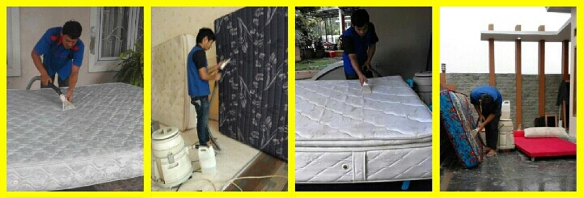 Cuci Springbed Bekasi Terhandal | Super Bersih Steril Wangi Garansi | Jasa Cuci Sofa Di Bekasi