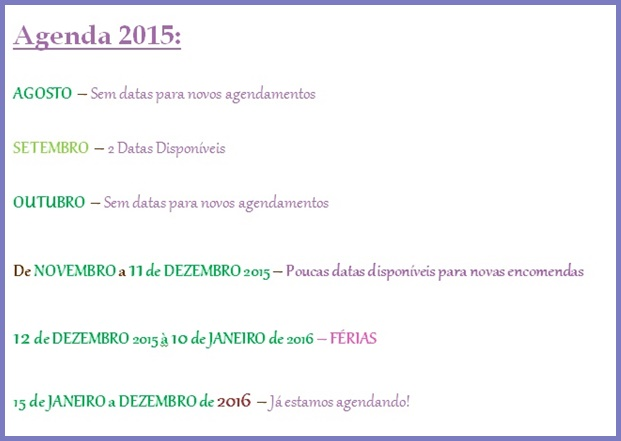 Nossa Agenda 2015