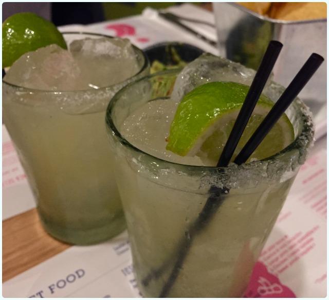 Wahaca, Manchester - Margaritas