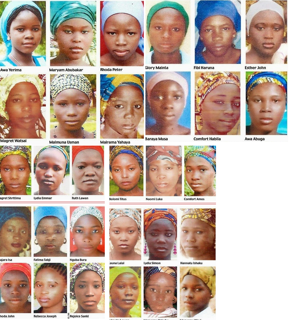 Nigerian Missing Girls name list, photos