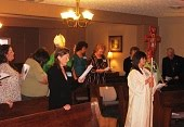 Procession on Confirmation Day